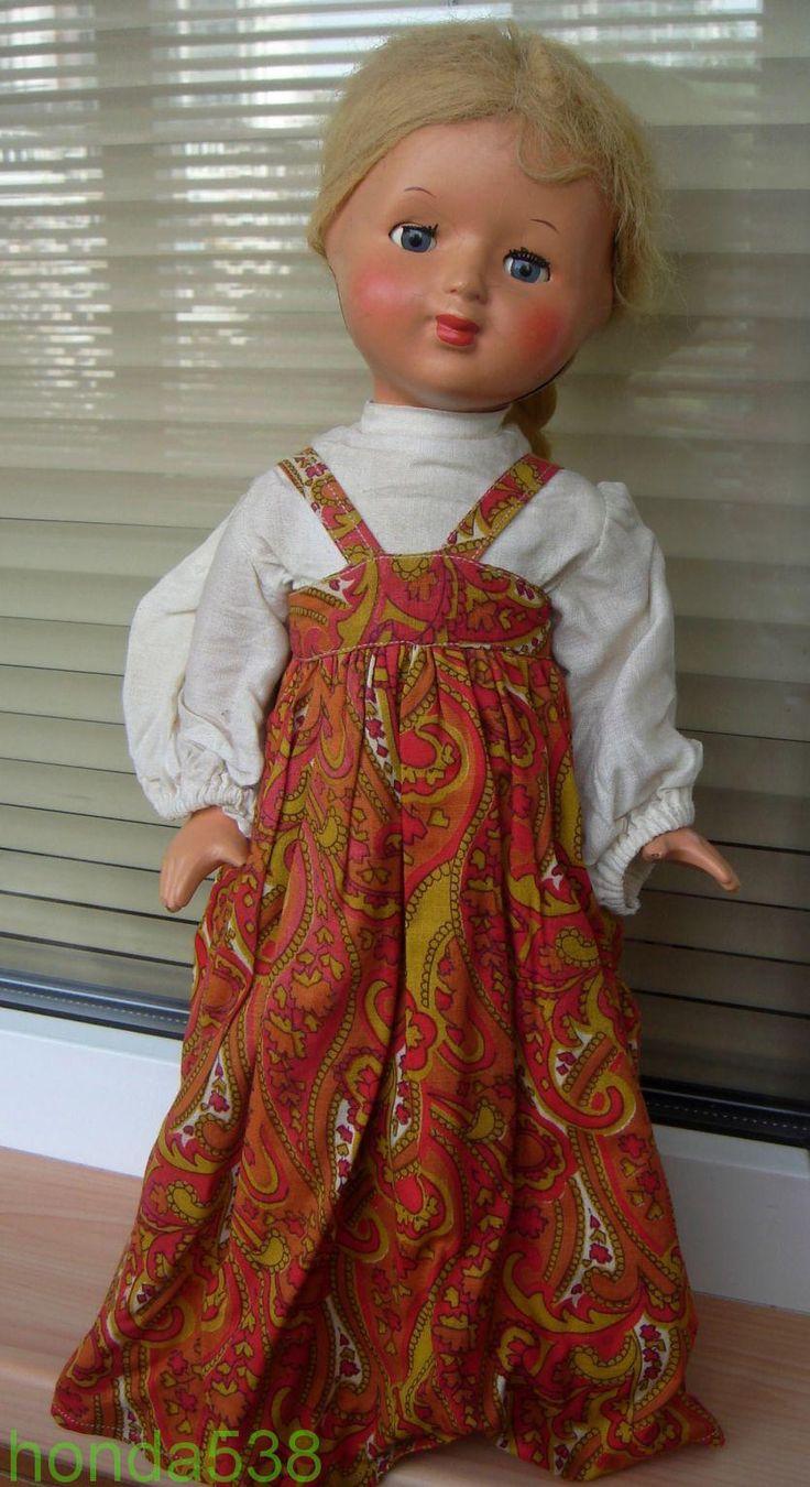 Кукла винтаж СССР Загорск опилочная опилки сарафан. Редкость! Срочная продажа! Обмен!