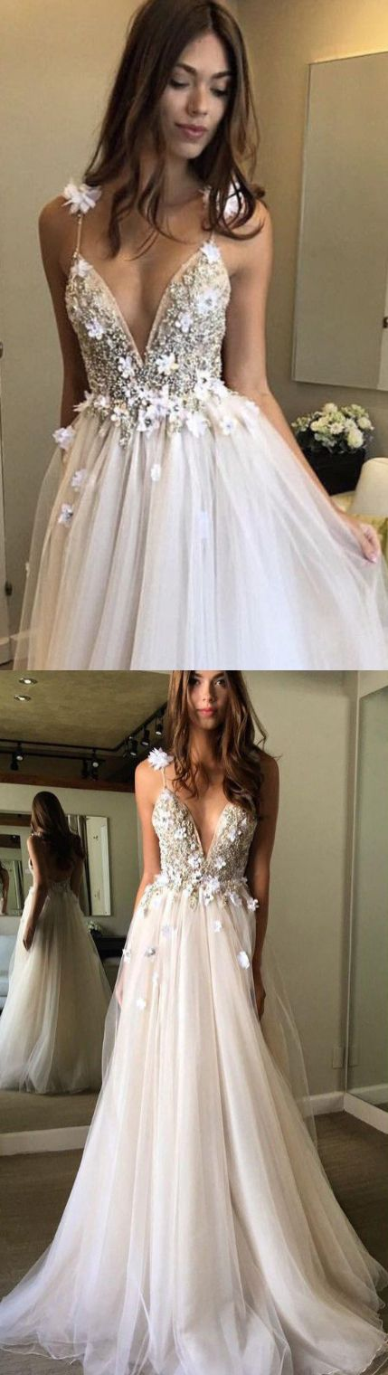 White Prom Dresses, Long Prom Dresses, Floral Open Back Deep V-neck Straps Tulle Appliques Prom Dress,, Floral Princess Wedding Dress WF01-906, Prom Dresses, Wedding Dresses, White Dresses, Long Dresses, Floral Dresses, White Prom Dresses, Long White dresses, Princess Wedding Dresses, Princess Dresses, Tulle dresses, Open Back Dresses, White Long Dresses, Open Back Wedding Dresses, White Wedding Dresses, Tulle Wedding dresses, Open Back Prom Dresses, Princess Prom Dresses, Long Floral ...