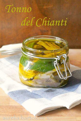 tonno del Chianti: tuscan recipe.  (Chianti Tuna)