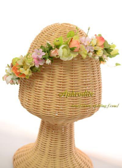 ❤フェアリーな多種類小花の花冠❤