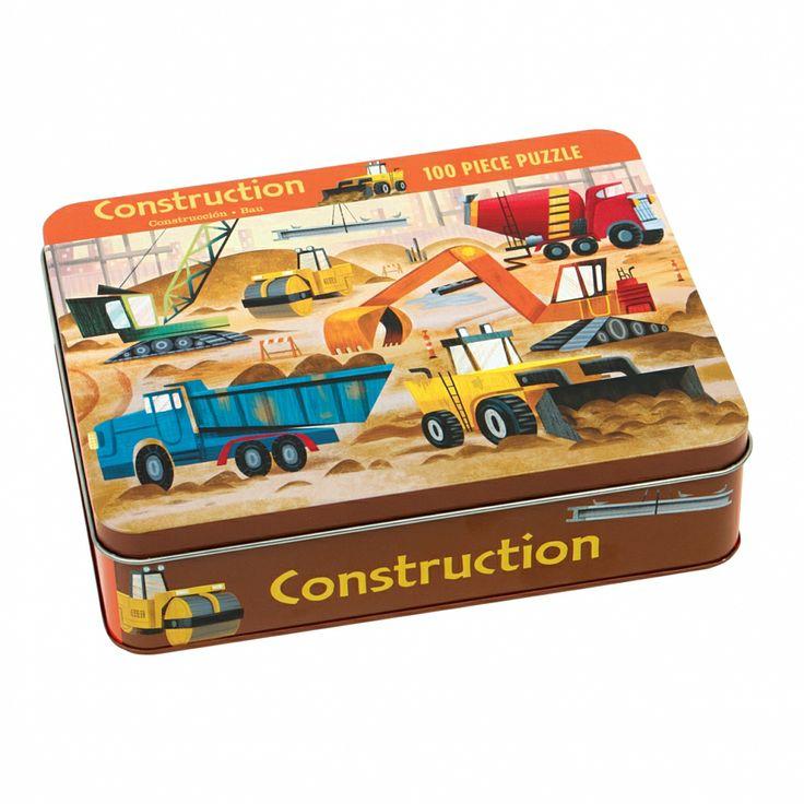 Puzzle 100 elementów Mudpuppy - Budowa