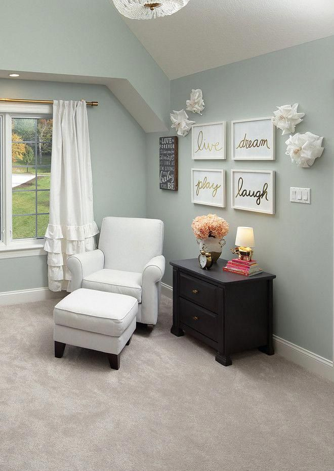 The Wall Color Here Is Sherwin Williams Comfort Gray Sw 6205