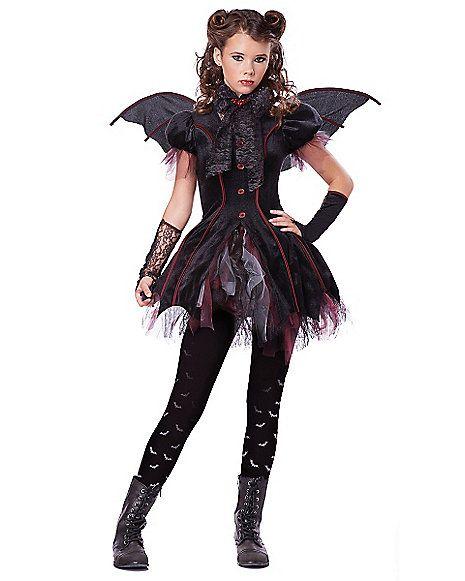 Victorian Vampiress Tween Costume - Spirithalloween.com