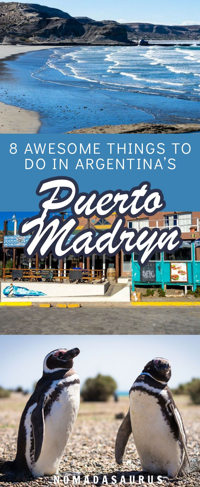 Here are all the best things to do in Puerto Madryn, a little town in Argentina's Patagonia area. #argentina #puertomadryn
