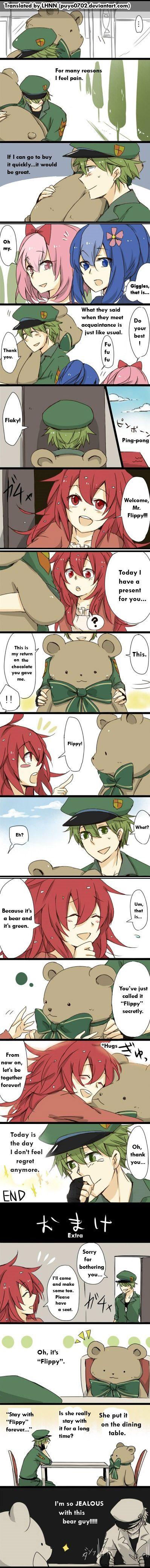 HTF: Flippy x Flaky...Teddy Bear
