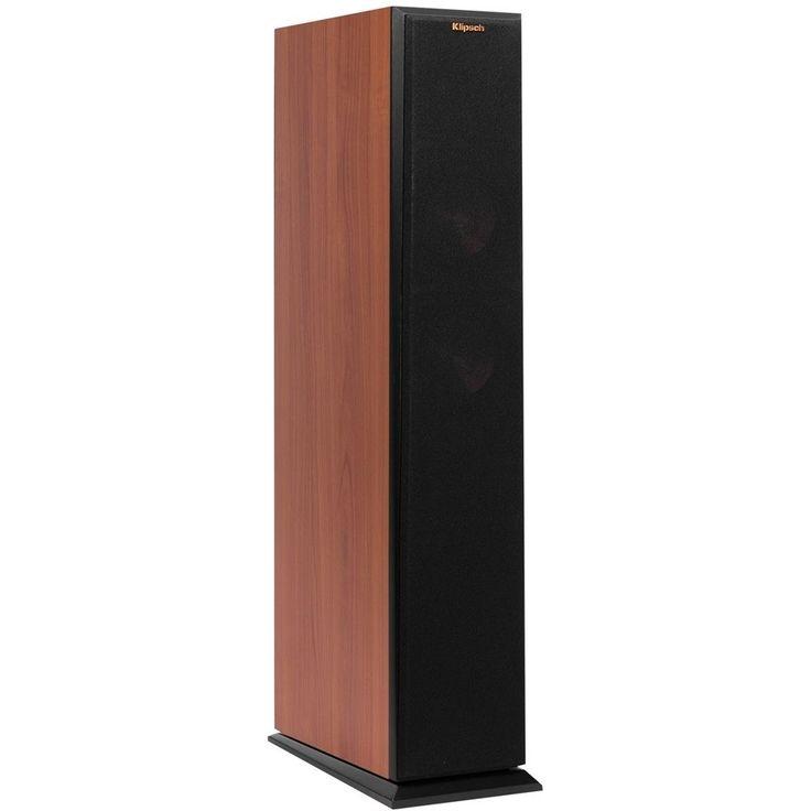 "Klipsch - Reference Premiere Dual 5-1/4"" 400-Watt Passive 2-Way Floor Speaker (Each) - Cherry (Red)"