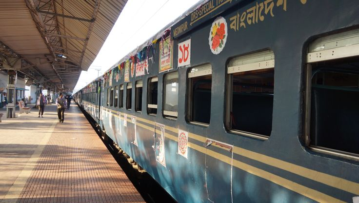 The Special Train from Bangladesh , that comes every year to Midnapore, West Bengal, India  on the occasion of Urs of Hazrat Syed Shah Murshid Ali Al-Qaderi Al-Baghdadi  (AS) under the tutelage of the current Sajjadanasheen Hazrat Syed Shah Rashid Ali Al Quaderi Al Baghdadi