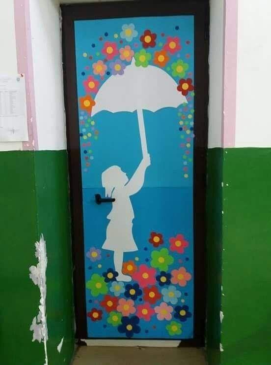 Pin by Madhuveena Modak on Classroom decoration | School doors