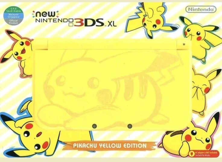 Nintendo-NEW-3DS-XL-Pokemon-Pikachu-Yellow-Edition: $255.00 (0 Bids) End Date: Thursday Sep-21-2017 10:35:05 PDT Bid now | Add to watch list