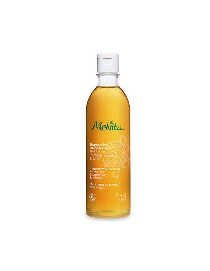 Shampoing Lavages Fréquents, Melvita, 200 ml, 9 €