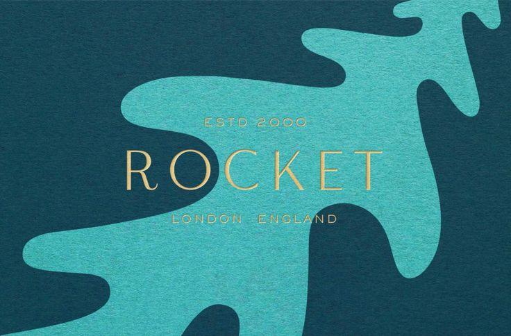 Rocket by Here Design, United Kingdom. #branding #print #logo
