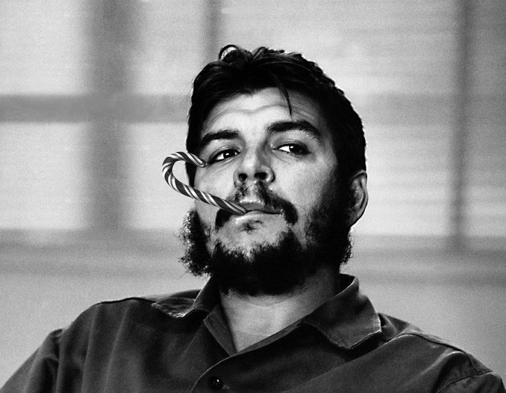 Dear Mr. Guevara, you're sweet when you quit smoking.