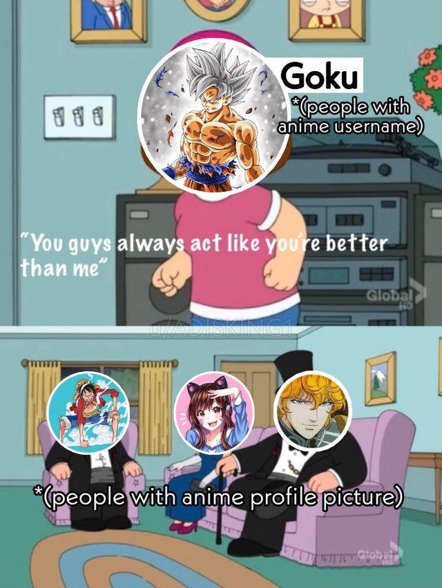 Anime Meme Anime Memes Anime People Memes