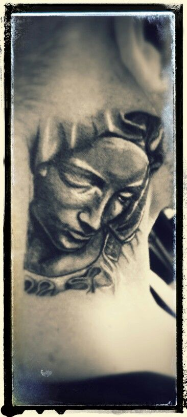 St maria tattoo
