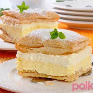 Ciasta  - Kremówka papieska- przepis krok po kroku
