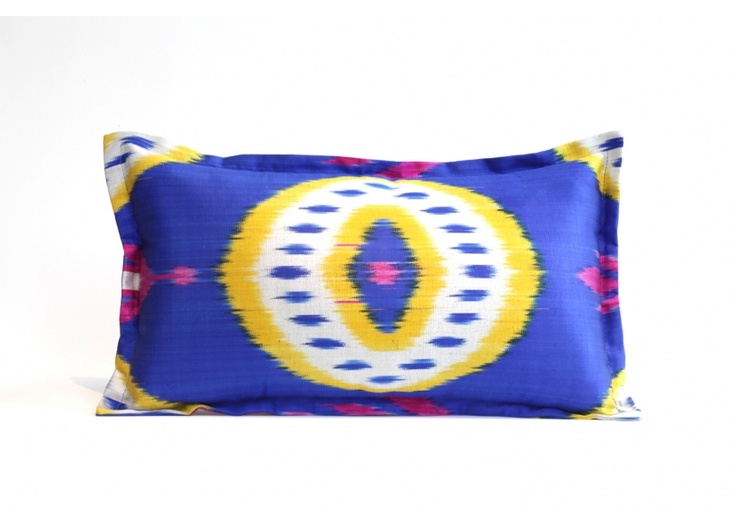 Robiya's Ikat Pillows - Also totally in love with all of these pillows!