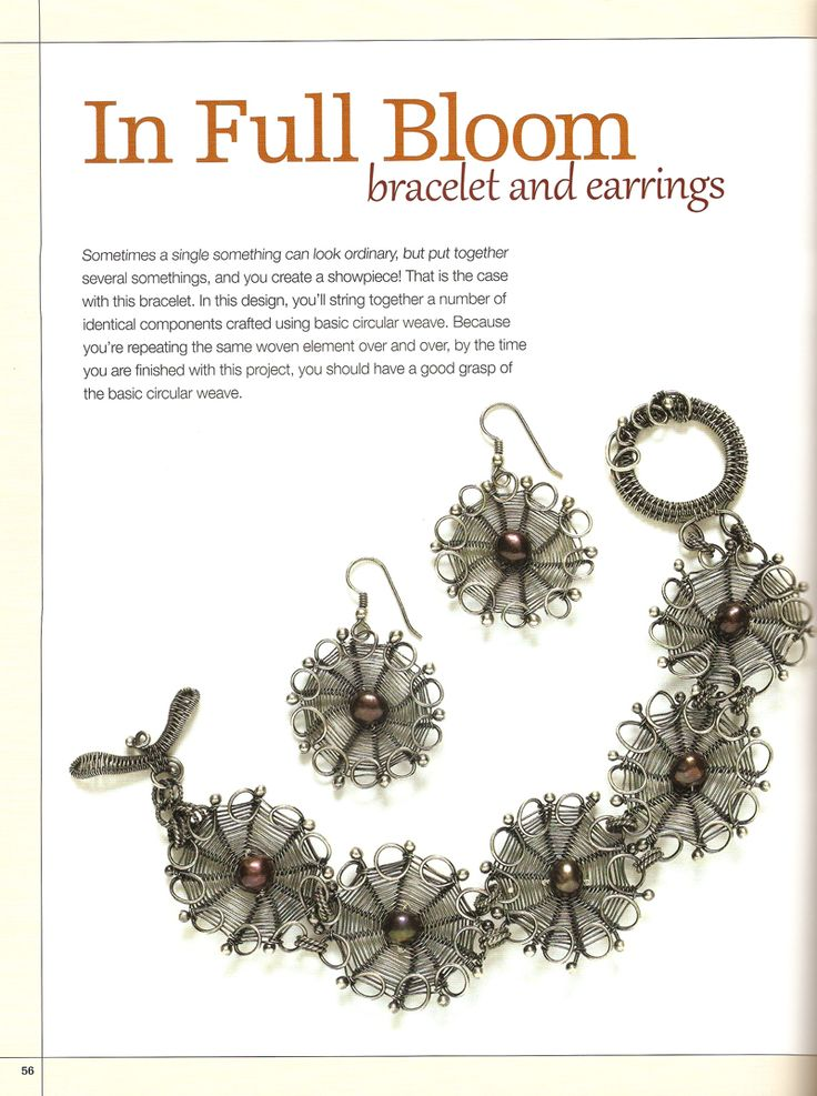 The 282 best Wire Weave Stitches images on Pinterest | Wire crochet ...