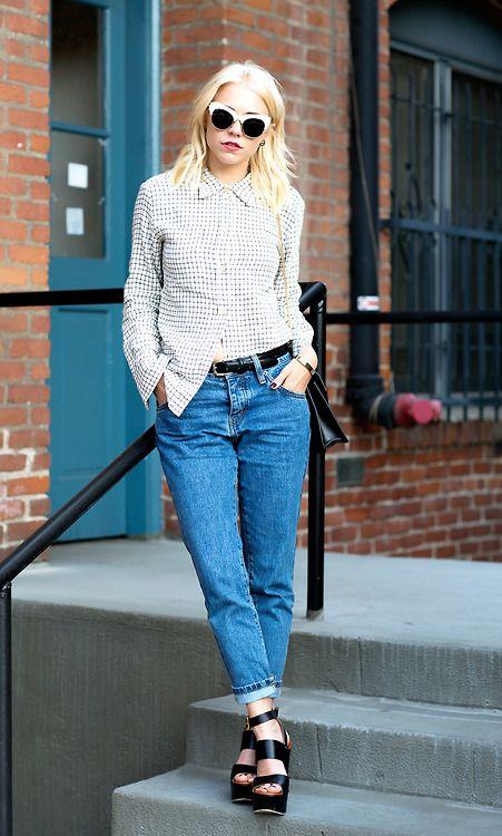 136 best images about boyfriend jeans on Pinterest | Flats ...