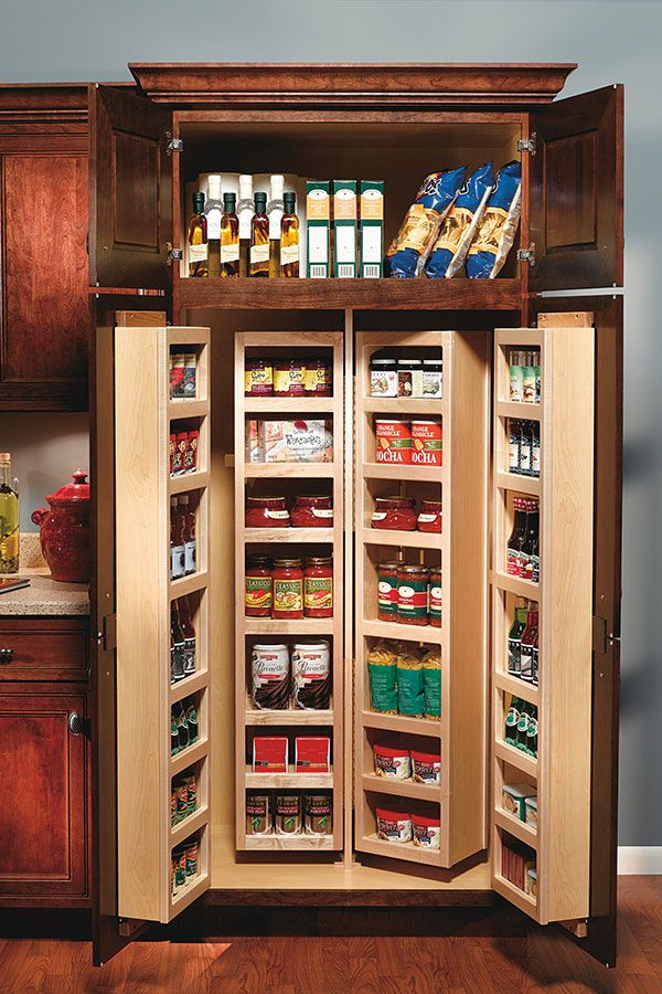 This Swing Out Pantry Cabinet Has Door Mounted Racks Outs And Over Ten Adjule Shelves So You Don Run Of E