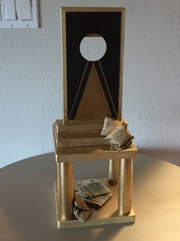 Cornhole Tournament Trophy