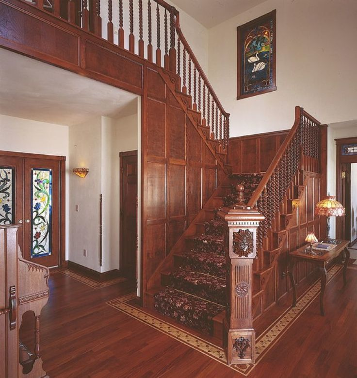 Popular of Victorian Stairs Design 17 Images About Loot On Pinterest Victorian Hallway Foyers And