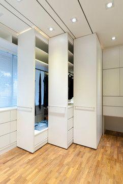 Apartment at Woollerton Park - Singapore - modern - closet - other metro - Architology
