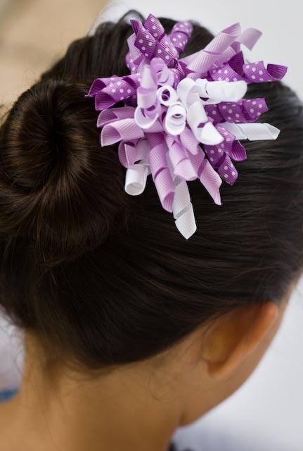 zazaloo corkies in purple + white