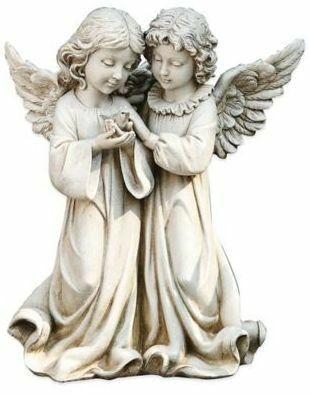 Double Angels#affiliate#statue#figurine#decor