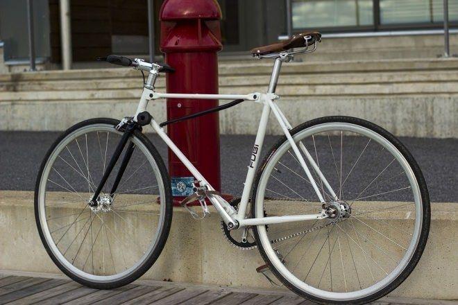 10秒で2つ折りにできる自転車「FUBifixie」―折り畳みなのに格好良いフィクシー [えん乗り]