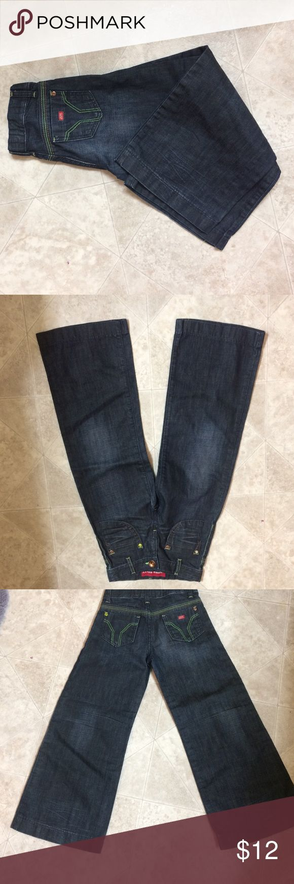"Miss sixty jeans Kids miss sixty jeans size 6 years inseam approximately 20"" Miss Sixty Bottoms Jeans"