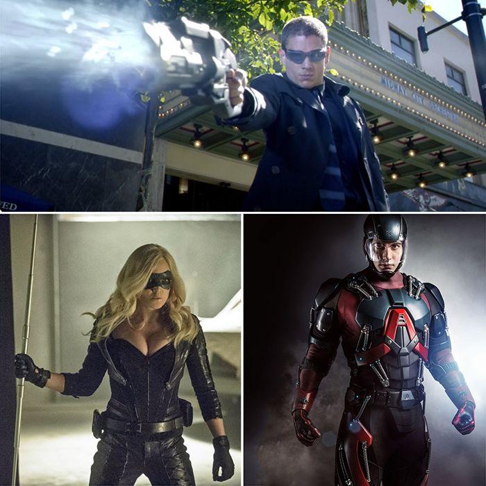 Heróis e Vilões de Arrow e The Flash ganharão série de TV
