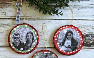 mod podge foto ornamenten, kerstversiering, ambachten, decoupage, seizoensgebonden vakantie decor