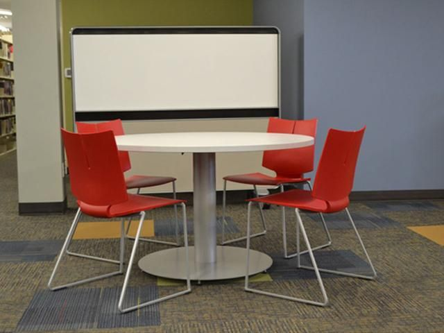 When Creating Collaborative Areas, Provide Data, Power, Shared Vertical  Elements Such As Screens Great Pictures
