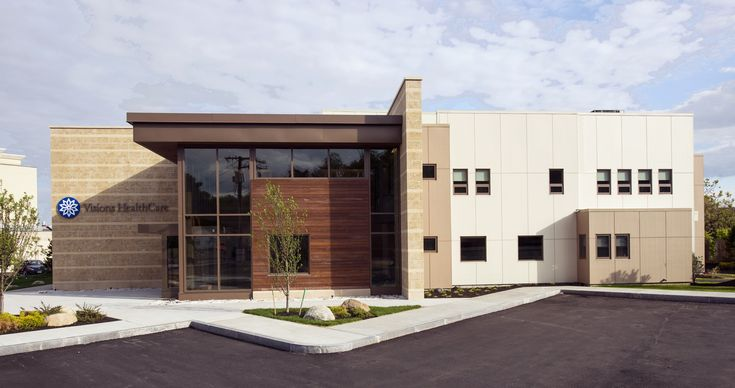 """Medical Office Building Dedham, MA    The project was named """"Green Building of the Month"""" by the New England Real Estate Journal in Feb., 2013.  Tektoniks Architects - Design   Detailing   Administration    Photo:  Benjamin Cheung   SMOOK Architects - Record Architect"""