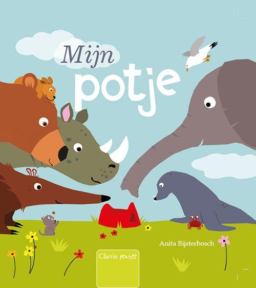 Mijn potje / Anita Bijsterbosch. Nationale Voorleesdagen Prentenboeken Top Tien 2018.