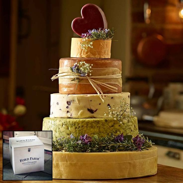 The Dorchester 6-Tier Cheese Celebration Cake, 15kg (Serves 150-200 People)