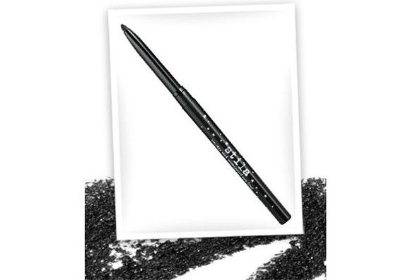 Stila's waterproof eyeliner in Lionfish...easy to use and stays put!