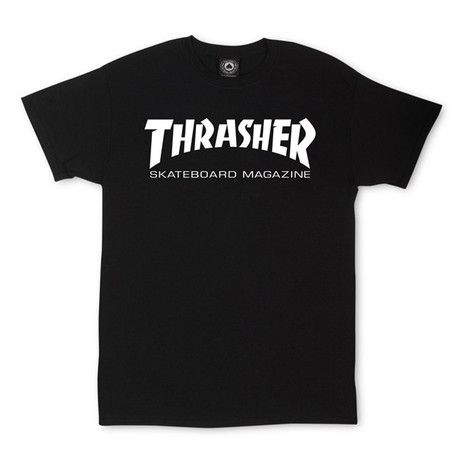 Thrasher Skate Mag T-Shirt — Black - Products - Boardworld