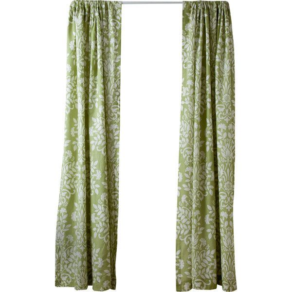 Shop Joss U0026 Main For Your Botanical Rod Pocket Curtain Panel In Green By  Laura Ashley. Add Elegant Appeal To Your Living Room Or Master Suite With  This ...
