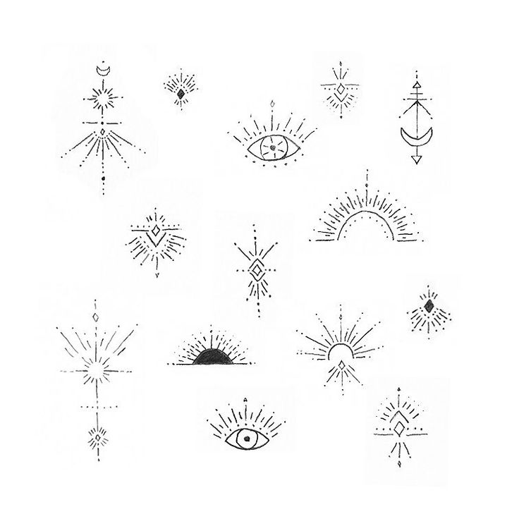 """Vasia on Instagram: """"Little flash designs available. Some of these would be amazing on wrists, ankles, sternums… $125 and up depending on size and…"""