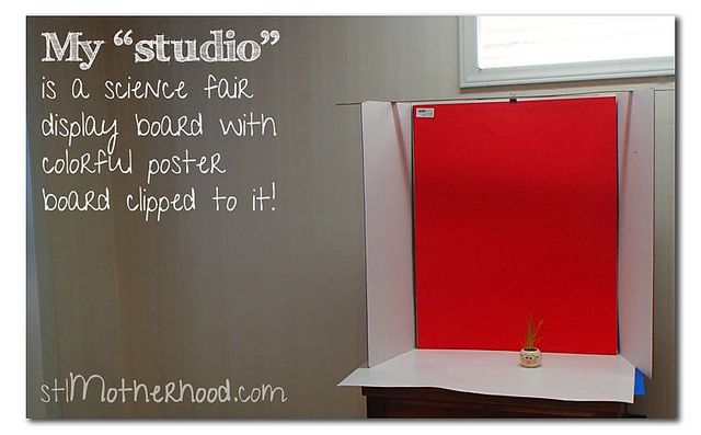 """PHOTO """"STUDIO""""...terrific for newbie bloggers on a tight budget!!!"""