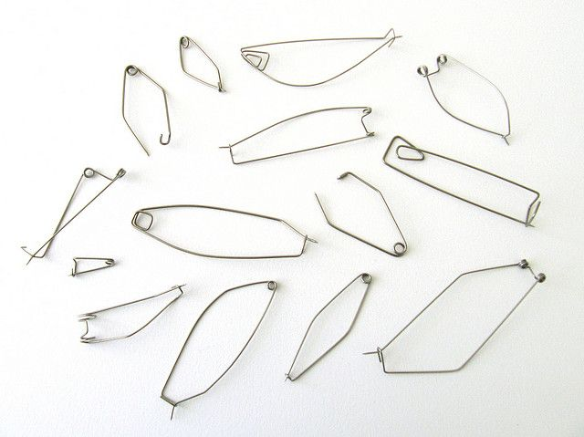 Another assortment of fibulas by Meghan Patrice Riley, via Flickr