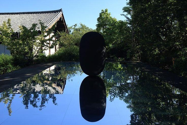 Kimsooja at Gangoji Temple in Nara Japan