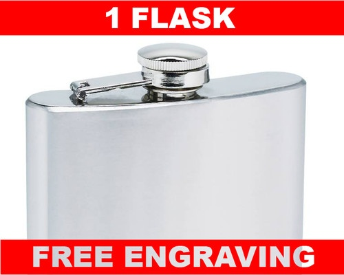 they were only like 9.50 each and looked great!!  1 Personalized 6oz Flask Groomsmen Usher Wedding Birthday Personalized Gift | eBay
