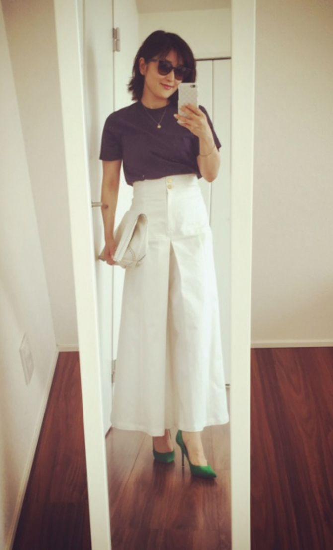 話題のブランド「ELIN」の白パンツ | スタイリスト5人のMY FAVORITE ~ 今、私がほしいもの ~ | mi-mollet(ミモレ) | 講談社