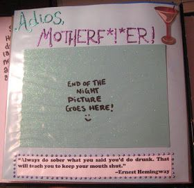 Alex's Wonderland: Shot Book Crafting