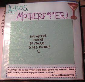Alex's Wonderland: Shot Book Crafting