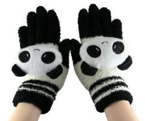 Cute Cartoon Touch Screen Gloves