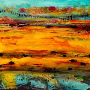 African Sunset   Micheline Abrahamson