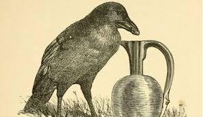 Image result for fábulas de esopo com corvo